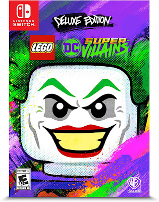 Lego Dc Super Villains Game Cover Nintendo Switch Deluxe Edition