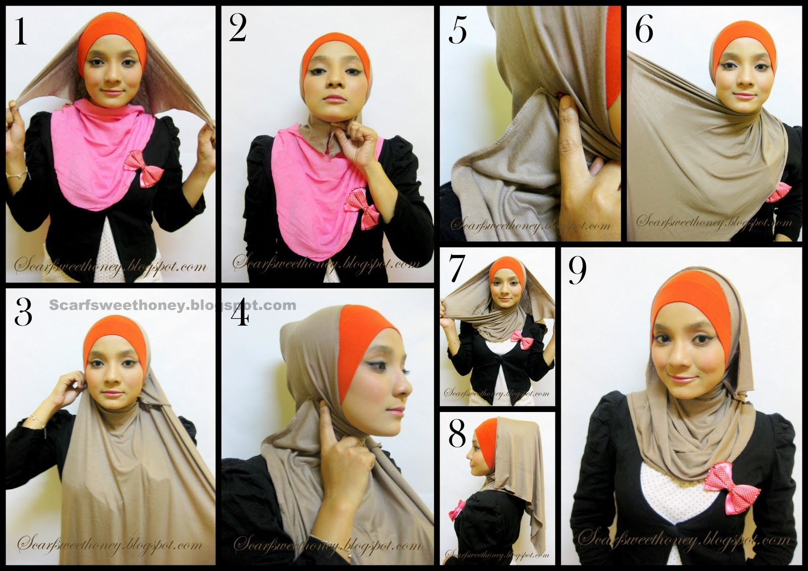 Mignonesia Islamic Fashion Part 2 How To Wear Hijab