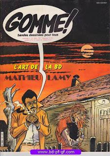 Gomme!, numéro 12, 1982, Mathieu Lamy