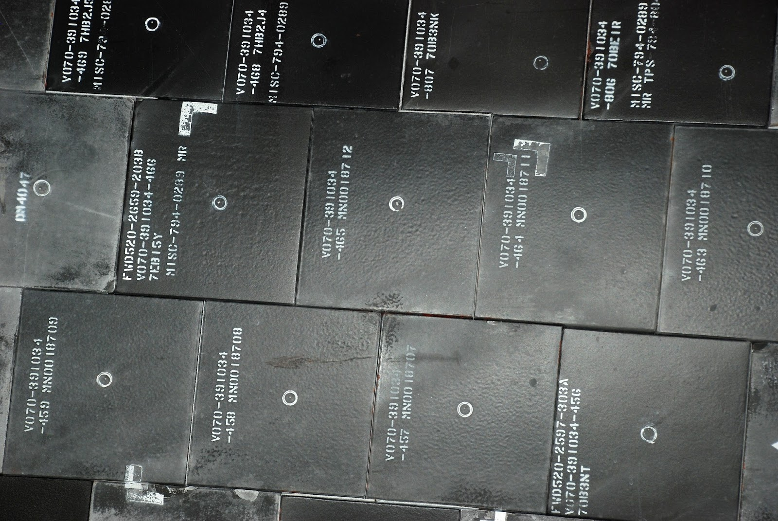 space shuttle heat shield tiles - photo #26