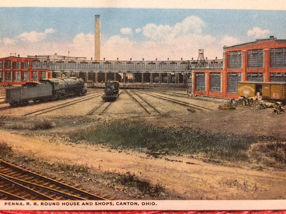 Towns and nature canton oh ns prr railyard roundhouse for Table 6 in north canton ohio