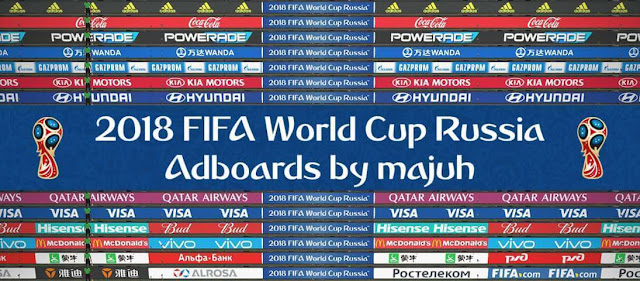 FIFA World Cup Russia Adboards PES 2018