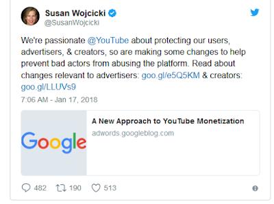 """<img src=""""YouTube.jpg"""" alt=""""YouTuber Cari Uang Di YouTube Bakal Semakin Sulit Ini,Penjelasannya"""">"""
