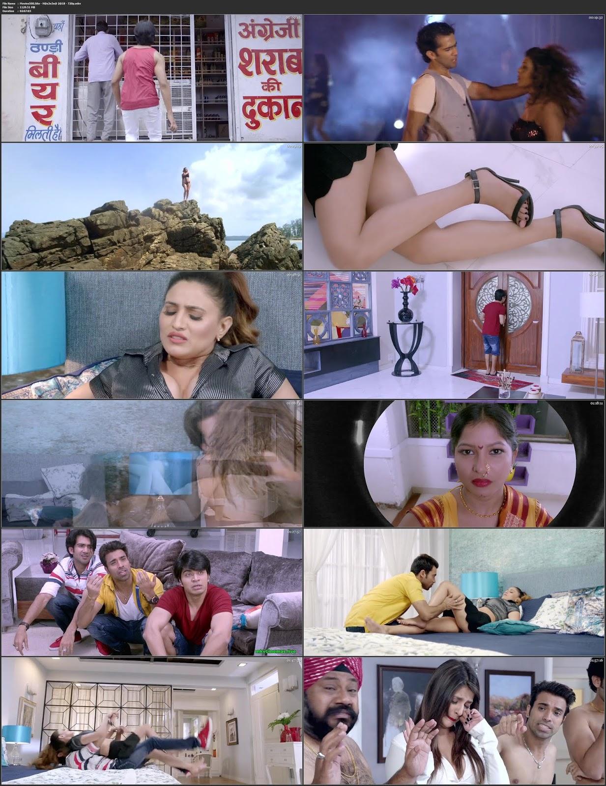 Haseena 2018 Hindi Full Movie HDRip 720p