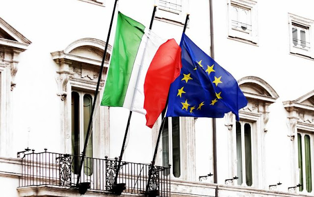 Oι Ιταλοί γυρίζουν την πλάτη στο ευρώ και στην Ε.Ε.