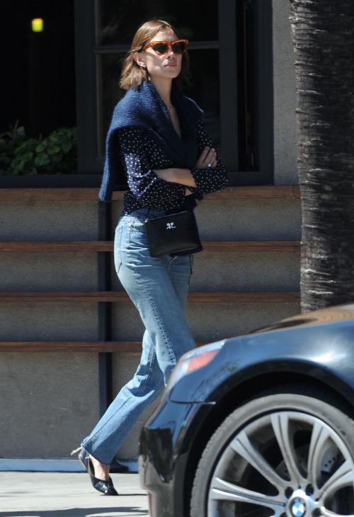 Alexa Chung's Casual Los Angeles Street Style