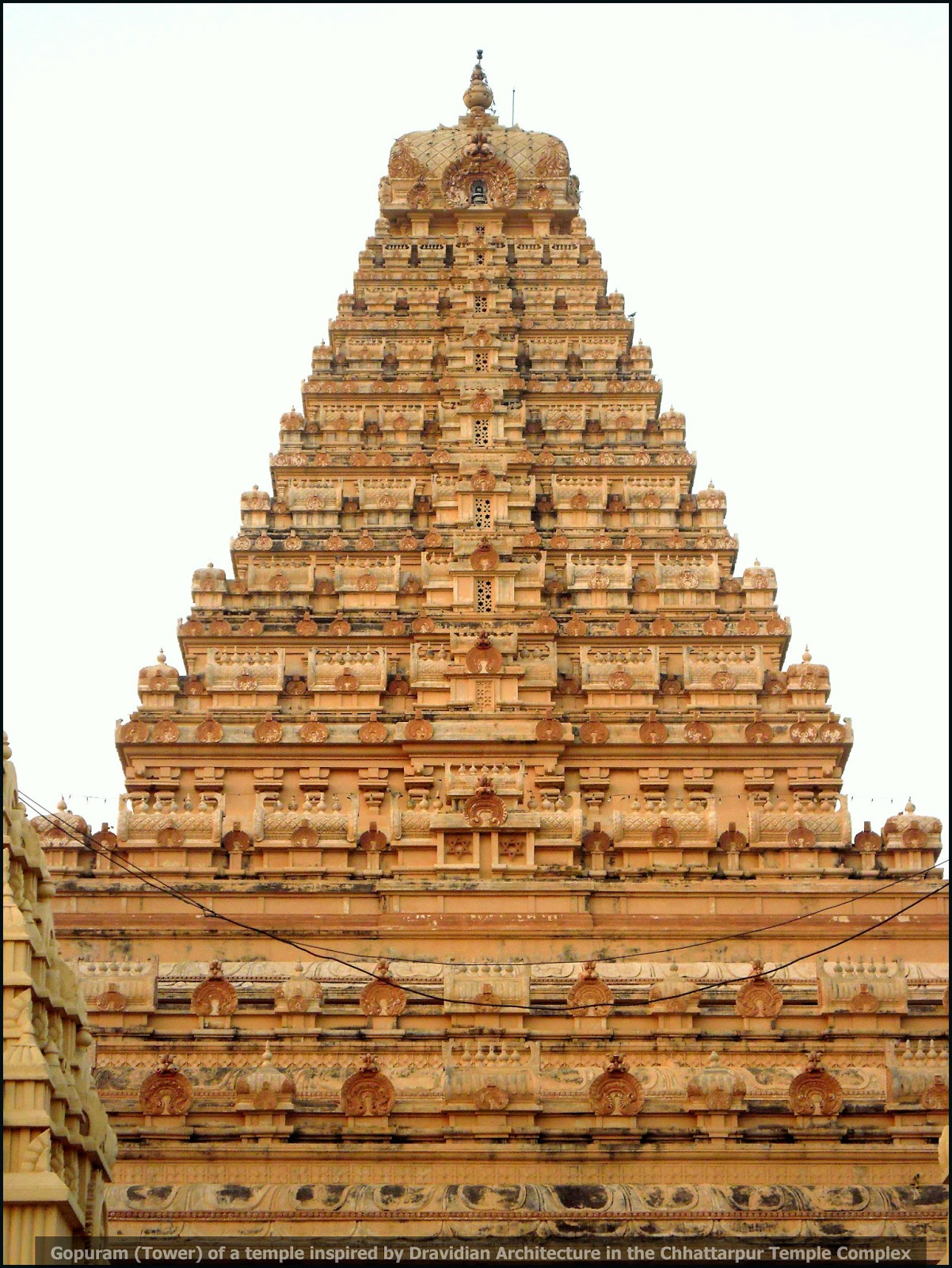 Picture of the Week #30 - Temple inspired by Dravidian