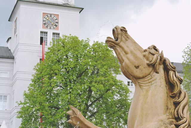Residenzplatz Sound of Music Fountain