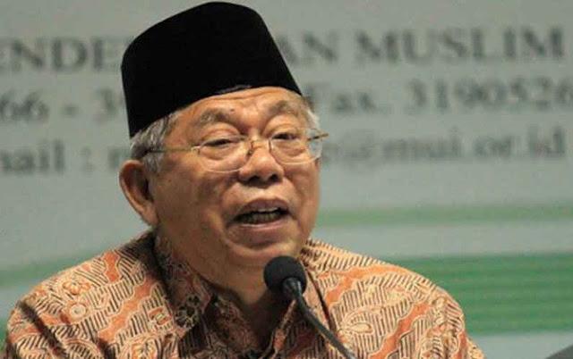 Jaksa Biarkan KH Ma'ruf Amin Kelelahan, MUI Protes Keras