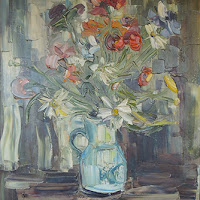 Irene Lafitte pintura bodegón naturaleza muerta
