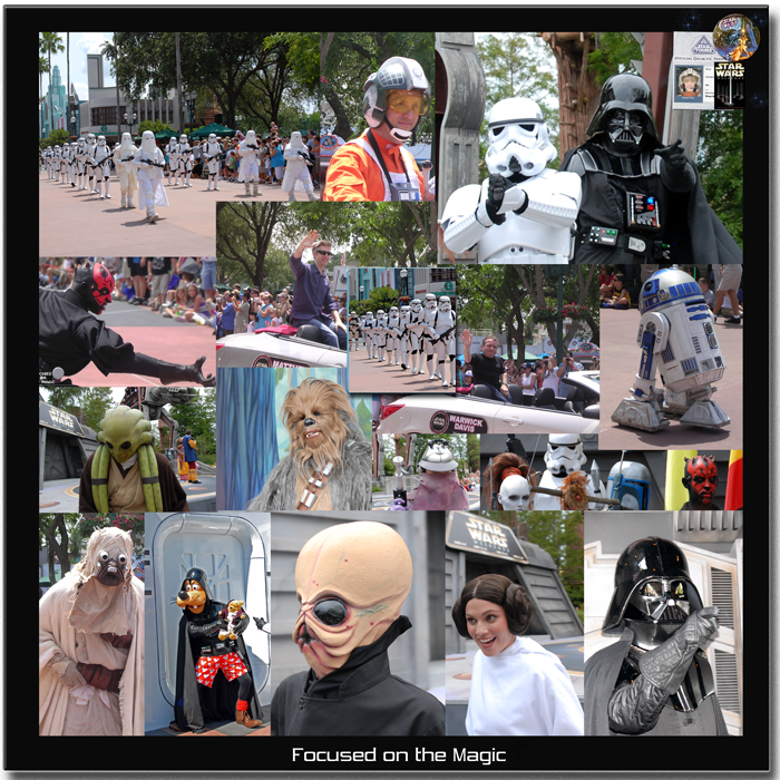 Star Wars Weekend Characters