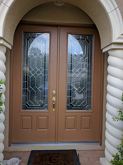 Door Colour Brown Pezcame