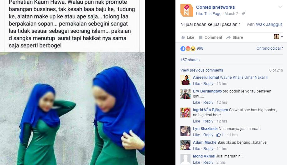 PERGHHH ! Kini Viral ! Inilah Wajah SEBENAR Gadis Yg Menggayakan Jubah Bogel Ni ! MELAMPAU !