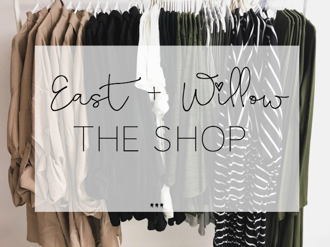 East + Willow The New Shop