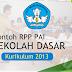 Contoh RPP PAI Sekolah Dasar Kelas 1 2 3 4 5 dan 6 Kurikulum 2013