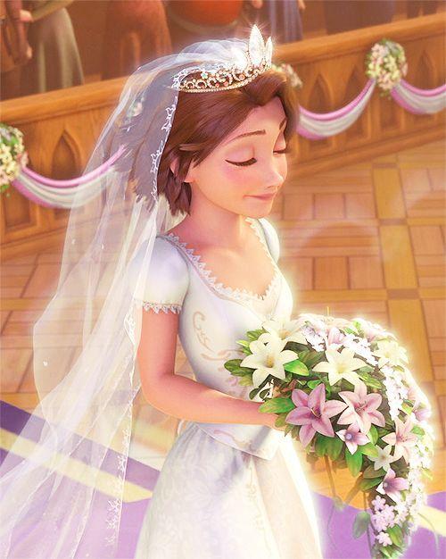 Disney wedding theme bridal hair accessories