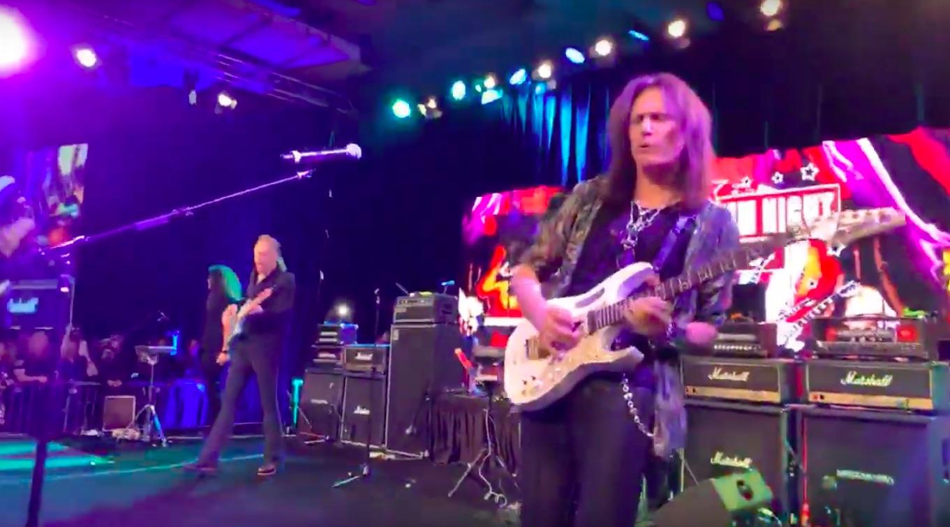Hennemusic Video Original David Lee Roth Band Members Reunite At Namm