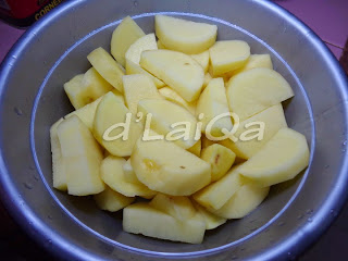 kentang siap digoreng