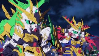 SD Gundam World: Sangoku Souketsuden Episodio 05