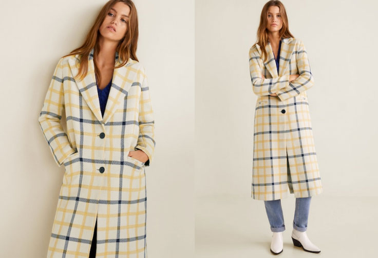 Mango Check Coat - My Top High Street Finds #3 - The Autumn Edit // Lauren Rose Style // Fashion Blogger London Wishlist