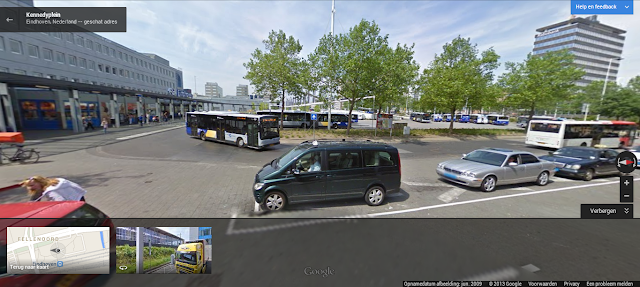 New Google Maps Street View