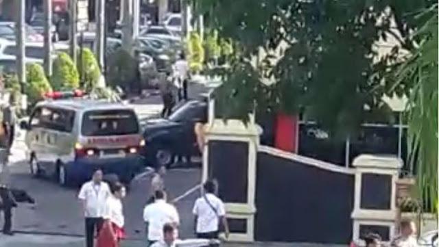 Terduga Teroris Serang Polisi di Mapolda Riau Dengan Samurai