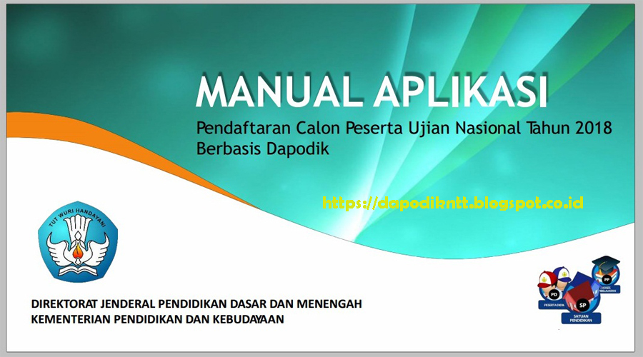 Panduan Manual Aplikasi Pendaftaran Calon Peserta Ujian Nasional
