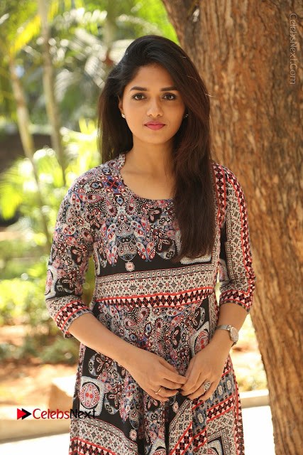 Actress Sunaina Latest Stills in Floral Dress at Pelliki Mundu Prema Katha Trailer Launch  0008.JPG