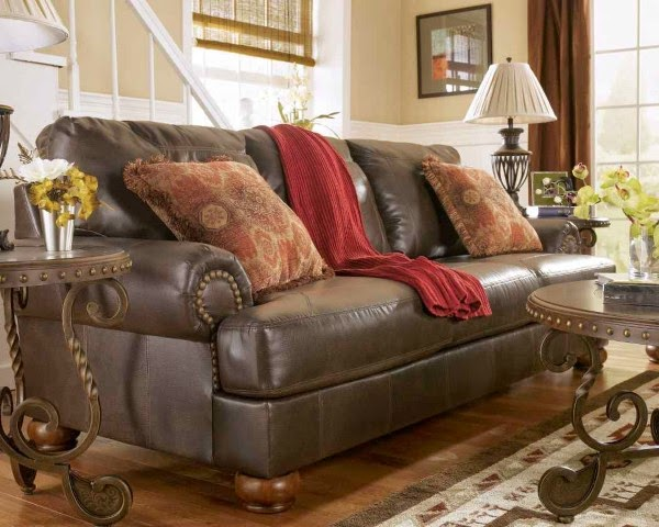 Rustic living room furniture pictures