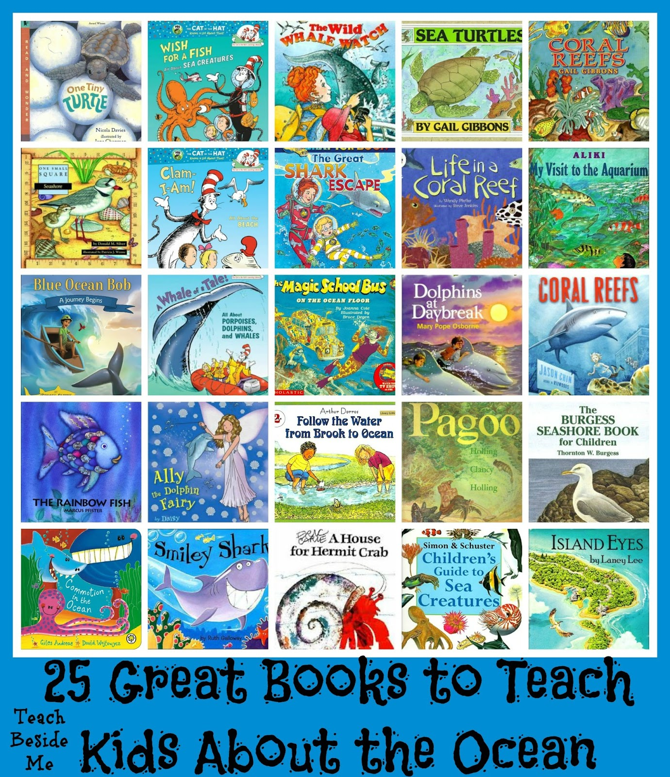 25 Ocean Books For Kids Amp Snapping Fish Craft