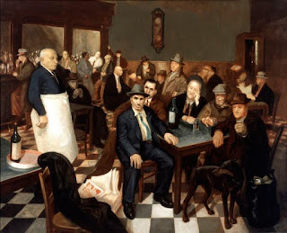 Al bar | sugli immigrati