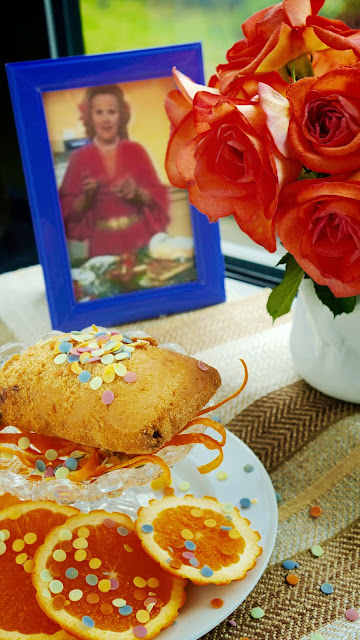 Fanny Cradock Deep Fried Ice Cream Pancakes