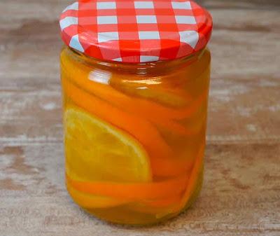 almibar de naranja para calar bizcochos
