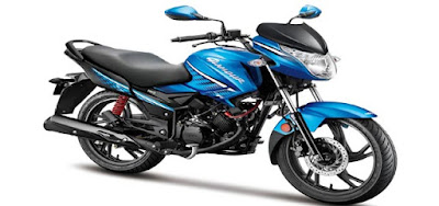 All New 2017 Hero Glamour 125 motorcycle