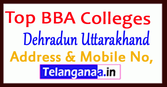 Top BBA Colleges in Dehradun Uttarakhand