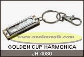Harmonika Golden Cup JH4080 Keychain