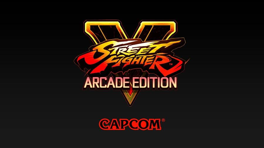 street fighter v arcade edition capcom ps4