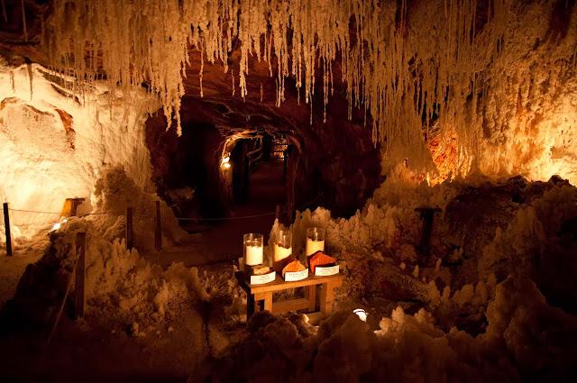 Interior Mina de sal Cardona