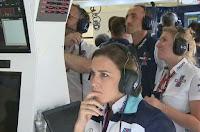 Robert Kubica Claire Williams F1
