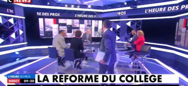 Ce matin entre Pascal Praud et le député Pascal Bloche sur CNEWS