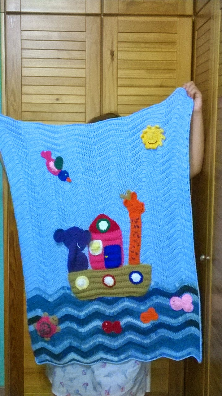 http://www.ravelry.com/patterns/library/noahs-ark-blanket
