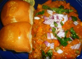 पम्पकिन पाव भाजी रेसिपी - Pumpkin Pav Bhaji Recipe - How to Make Pumpkin Pav Bhaji at Home