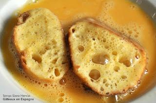 recette pain perdu agrumes