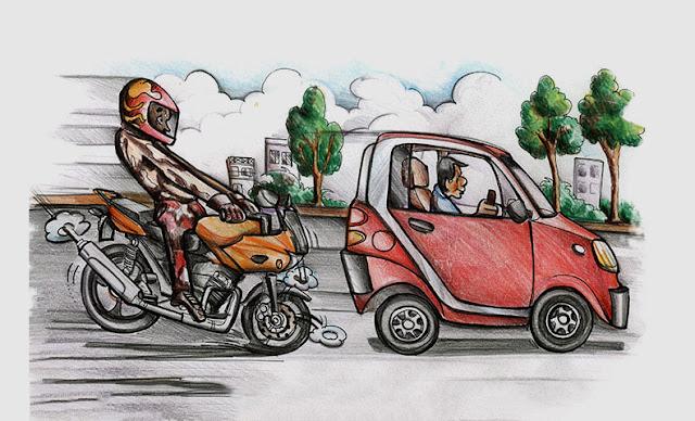 Hướng dẫn cách phanh môtô an toàn và đúng cách