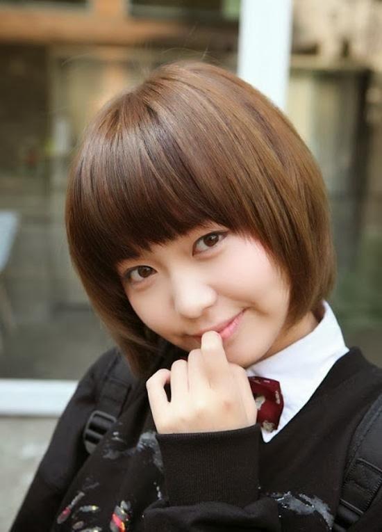 Model rambut korea pendek dan panjang tahun 2014