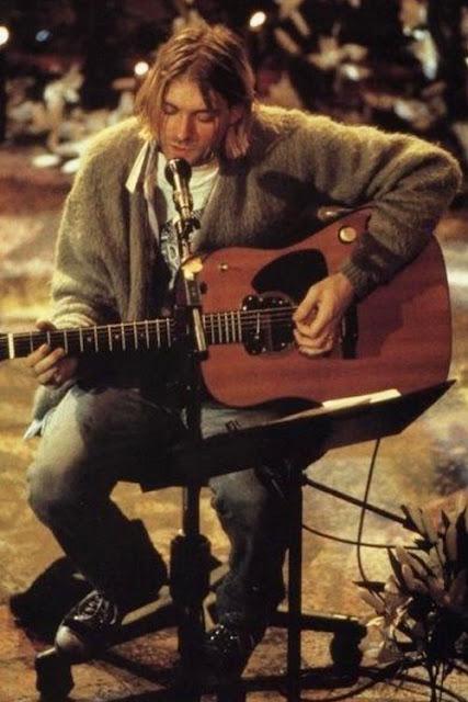 Kurt Cobain acustico Nirvana