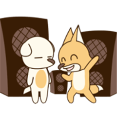 Brown Fox and Lazy Dog 2