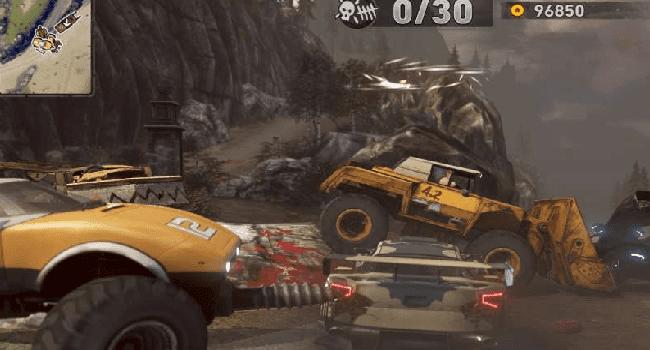 تحميل لعبة السيارات carmageddon max damage