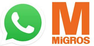 whatsapp dolandırıcılığı, dolandırıcılık, migros, hediye kupon dolandırıcılığı