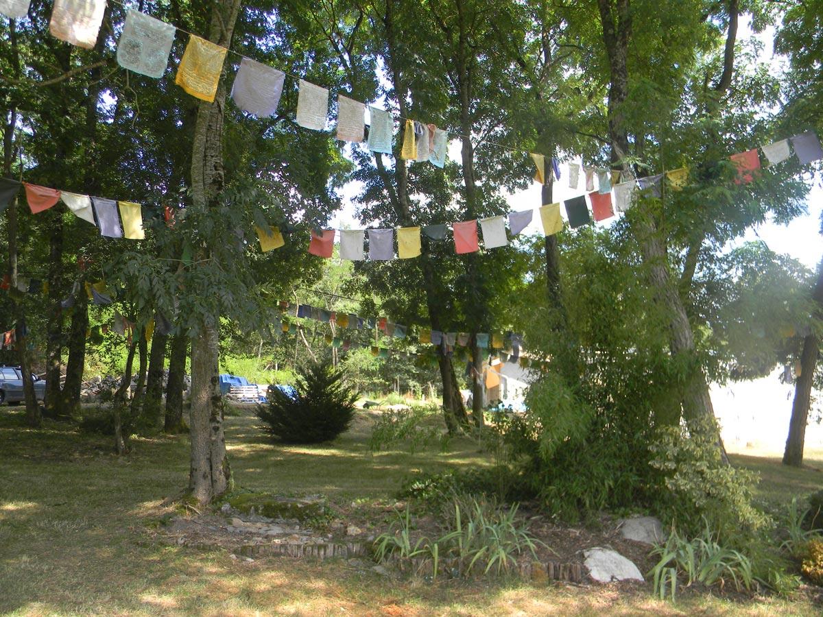 Jardin du temple des mille Bouddhas, Dashang Kagyu Ling